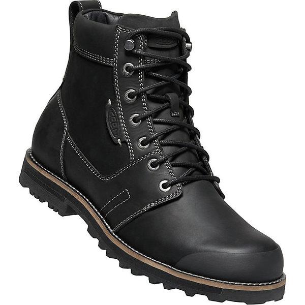 キーン メンズ ブーツ&レインブーツ シューズ KEEN Men's The Rocker II Boot Black
