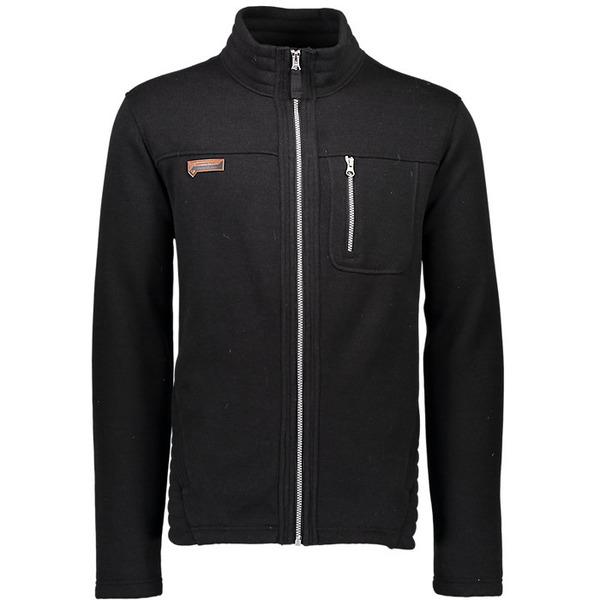 オバマイヤー メンズ ジャケット&ブルゾン アウター Obermeyer Men's Joshua Fleece Jacket Black