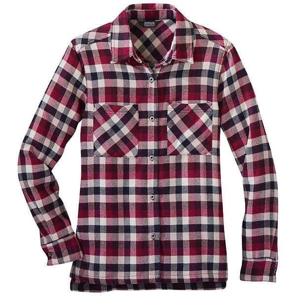 アウトドアリサーチ レディース シャツ トップス Outdoor Research Women's Feedback Flannel Shirt Beet Plaid