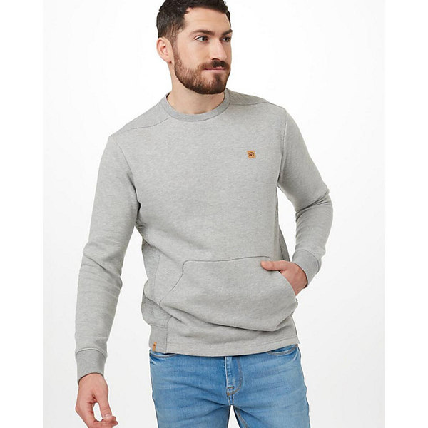 テンツリー メンズ シャツ トップス Tentree Men's Kenai LS Crew Hi Rise Grey Heather