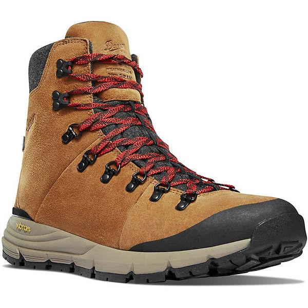 ダナー メンズ ブーツ&レインブーツ シューズ Danner Men's Arctic 600 7IN 200G Insulated Side Zip Boot Brown / Red