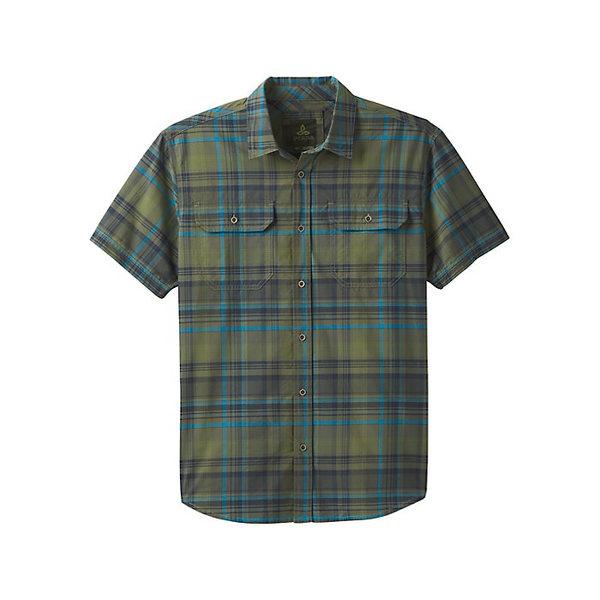 プラーナ メンズ シャツ トップス Prana Men's Cayman Plaid Shirt Rye Green