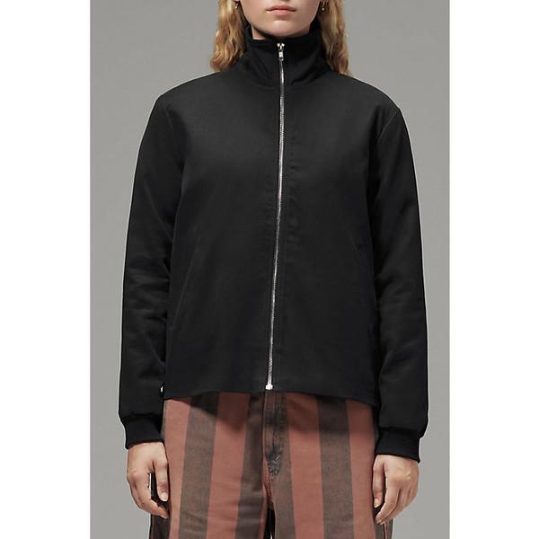 フードラム レディース ジャケット&ブルゾン アウター Hoodlamb Women's Side Zip Jacket Black