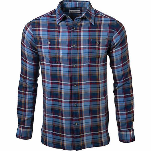 マウンテンカーキス メンズ シャツ トップス Mountain Khakis Men's Meridian LS Shirt Heron