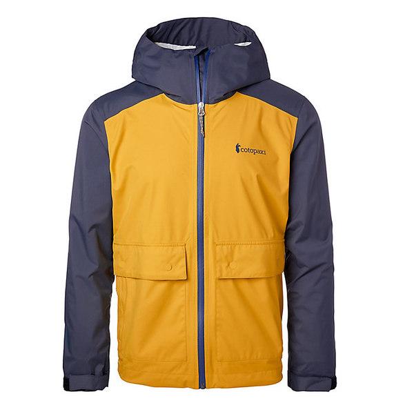コートパクシー メンズ ジャケット&ブルゾン アウター Cotopaxi Men's Parque Rainshell Sahara/Graphite