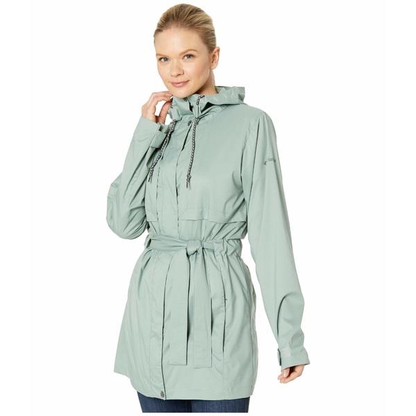 コロンビア レディース コート アウター Pardon My Trench Rain Jacket Light Lichen