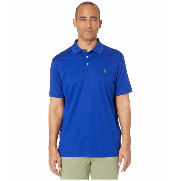 ラルフローレン メンズ シャツ トップス Classic Fit Soft Touch Polo Blue