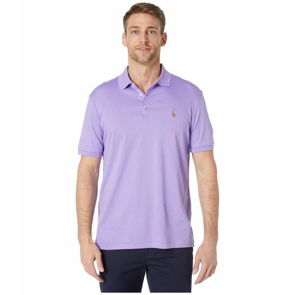 ラルフローレン メンズ シャツ トップス Classic Fit Soft Touch Polo Purple