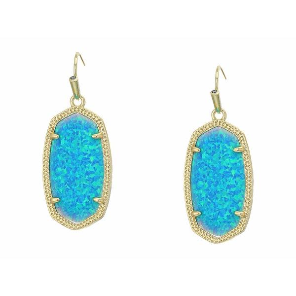 ケンドラスコット レディース ピアス&イヤリング アクセサリー Dani Earrings Gold/Turquoise Opal