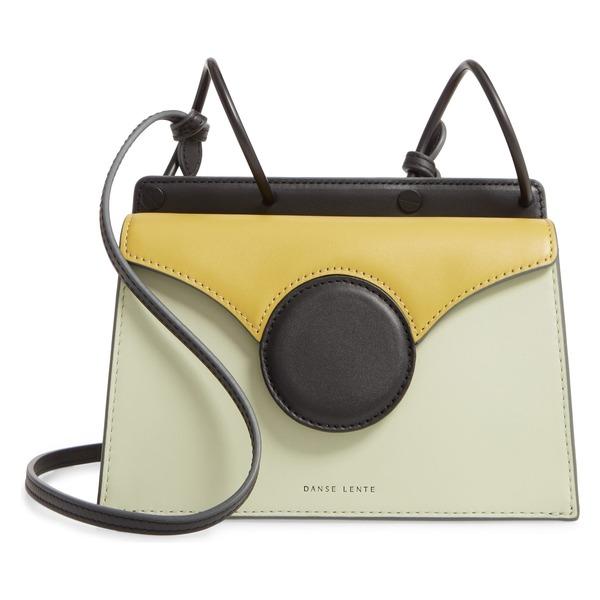 ダンセレンテ レディース ハンドバッグ バッグ Danse Lente Mini Phoebe Leather Bag Mint/ Olive