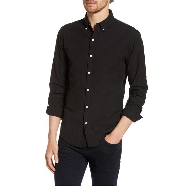 ボノボス メンズ シャツ トップス Bonobos Summer Weight Slim Fit Sport Shirt Black