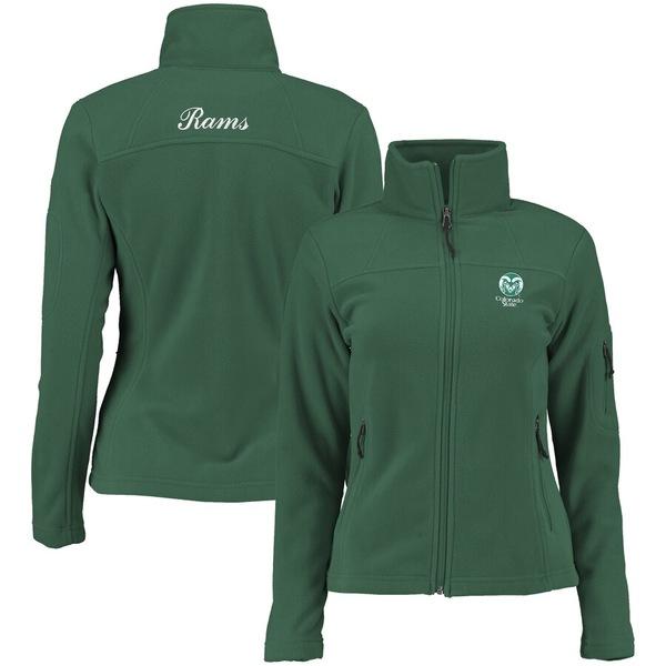 コロンビア レディース ジャケット&ブルゾン アウター Colorado State Rams Columbia Women's Give & Go Full-Zip Jacket Green