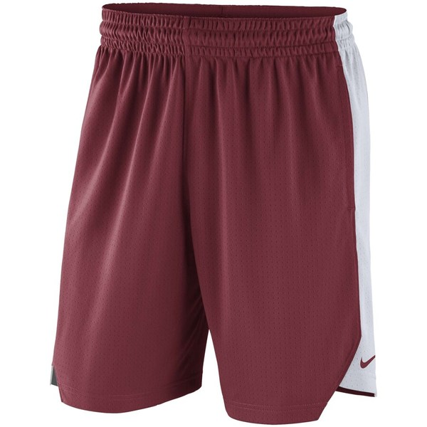 ナイキ メンズ ハーフ&ショーツ ボトムス Alabama Crimson Tide Nike Practice Performance Shorts Crimson
