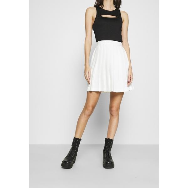 おすすめ特集 エヌ エー ケイ ディ レディース ボトムス スカート off white MINI 全商品無料サイズ交換 買取 skirt Mini PLEATED - SKIRT xngb018d