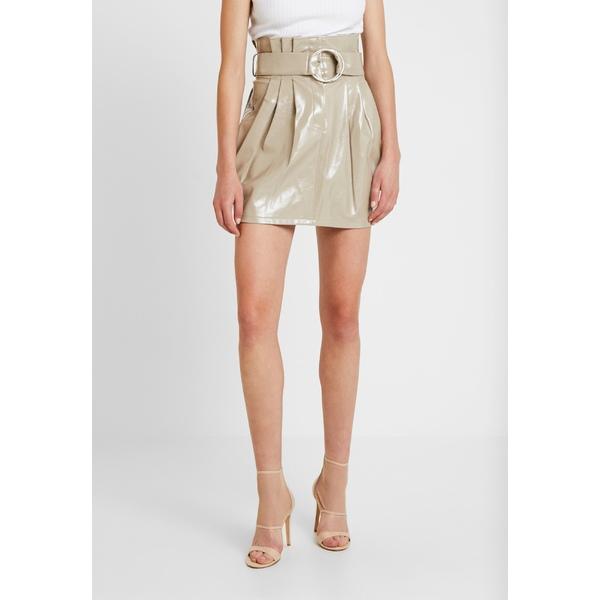 日本最大級の品揃え フォース アンド レックス オンラインショッピング レディース ボトムス スカート mocha xngb018e SADIE patent skirt 全商品無料サイズ交換 - A-line