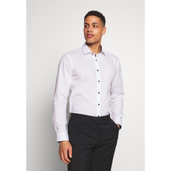 オリンプ メンズ トップス シャツ white 全商品無料サイズ交換 驚きの価格が実現 OLYMP NO.6 - 捧呈 Formal shirt FIT xngb018e SLIM SUPER