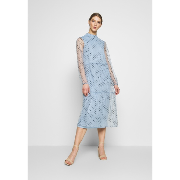 ヴィラ レディース トップス ワンピース ashley 時間指定不可 blue 全商品無料サイズ交換 VIKOTTA xnip008d dress DRESS Party MIDI 爆買い送料無料 Cocktail -