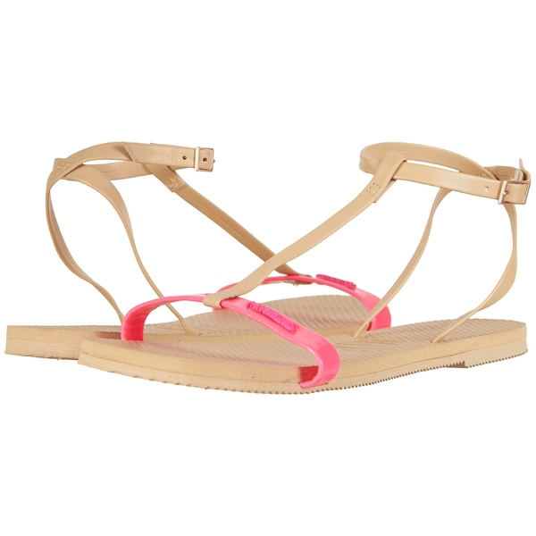 ハワイアナス レディース サンダル シューズ You Belize Flip Flops Shocking Pink