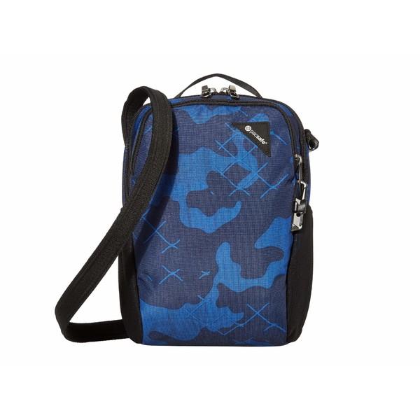 パックセーフ メンズ ビジネス系 バッグ Vibe 200 Anti-Theft Compact Travel Bag Blue Camo