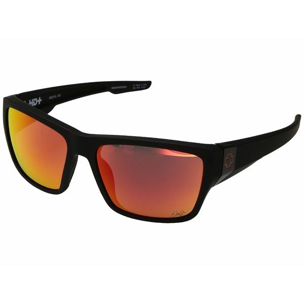 スパイオプティック メンズ サングラス・アイウェア アクセサリー Dirty Mo 2 Dale Jr/Matte Black/HD Plus Gray Green/Orange Spectra Mirror