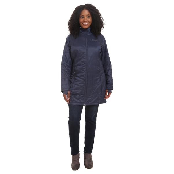 コロンビア レディース コート アウター Plus Size Mighty Lite Hooded Jacket Nocturnal