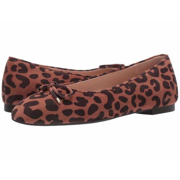 スチュアート ワイツマン レディース サンダル シューズ Gabby Flat Cappuccino Cheetah Suede