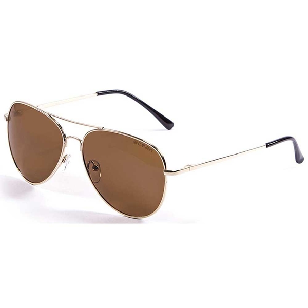 オーシャンサングラス メンズ 上等 アクセサリー サングラス アイウェア Gold Brown 入手困難 全商品無料サイズ交換 sunglasses Bonila Ocean xtqc0152