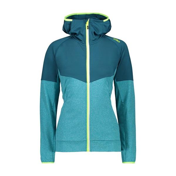 シーエムピー レディース アウター ジャケット ブルゾン Baltic Melange CMP Fix 春の新作 Jacket 全商品無料サイズ交換 Hood xtqc0153 テレビで話題