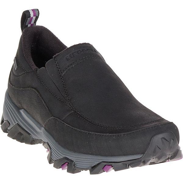 メレル レディース ハイキング スポーツ Merrell Women's Coldpack Ice+ Moc Waterproof Shoe Black