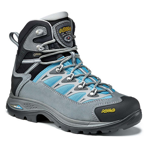 アゾロ レディース ハイキング スポーツ Asolo Women's Touchstone GV Boot Cloudy Grey/Blue Atoll