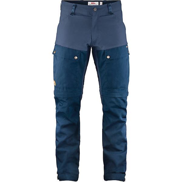 フェールラーベン メンズ ハイキング スポーツ Fjallraven Men's Keb Gaiter Trouser Dark Navy-Uncle Blue
