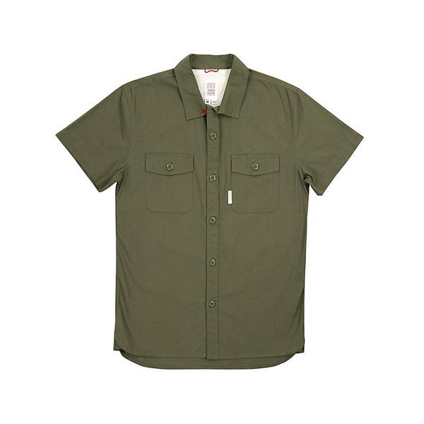 トポ・デザイン メンズ フィットネス スポーツ Topo Designs Men's Twill Field Shirt Olive