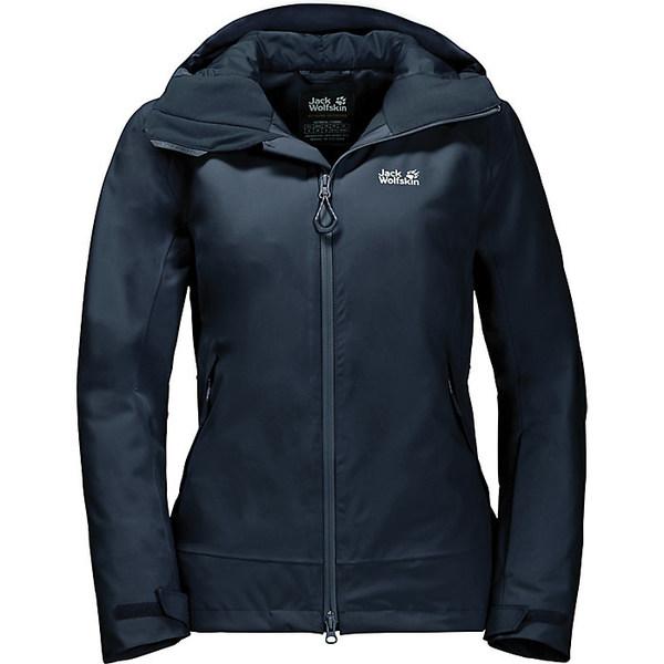 ジャックウルフスキン レディース ジャケット&ブルゾン アウター Jack Wolfskin Women's Exolight Peak Jacket Midnight Blue
