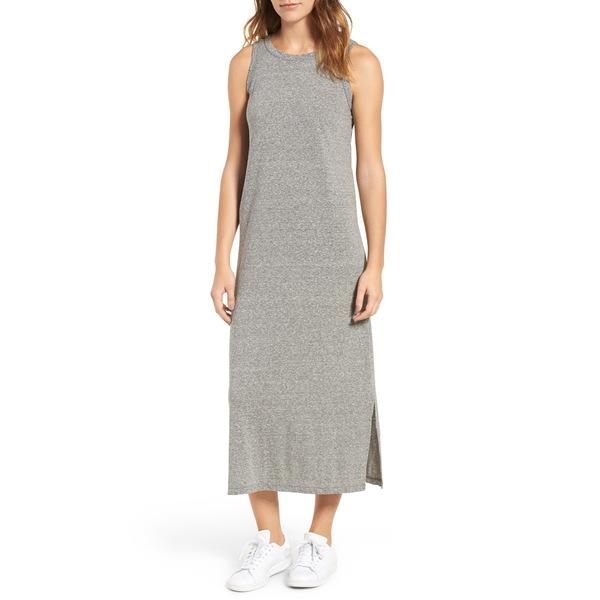 カレント エリオット レディース ワンピース トップス The Perfect Muscle Tee Dress Heather Grey