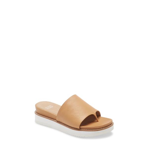 エイリーンフィッシャー レディース サンダル シューズ Touch Platform Sandal Sand Leather