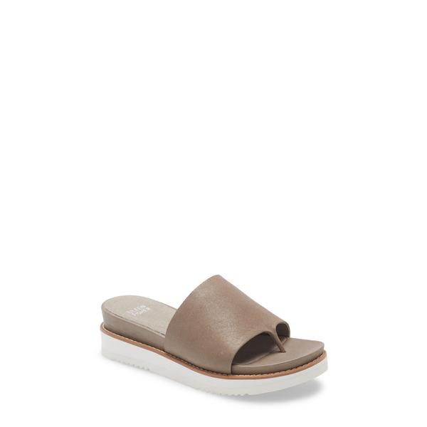 エイリーンフィッシャー レディース サンダル シューズ Touch Platform Sandal Moon Leather