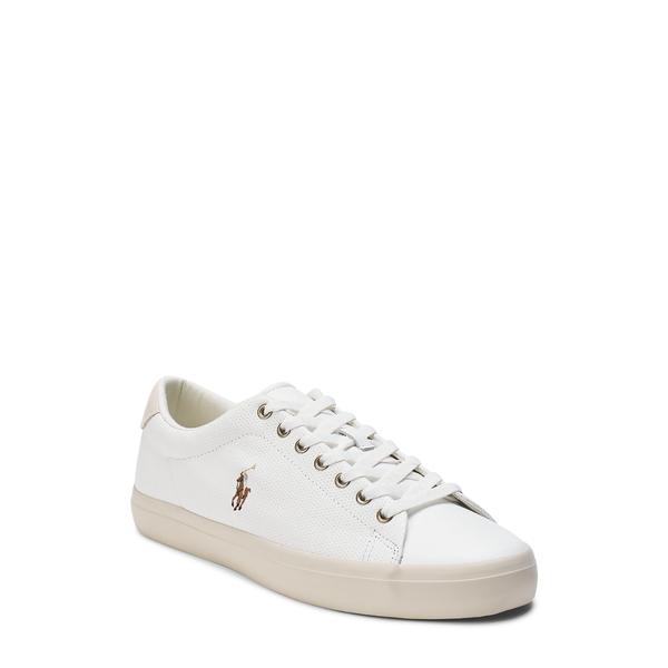 ラルフローレン メンズ スニーカー シューズ Longwood Sneaker White Leather