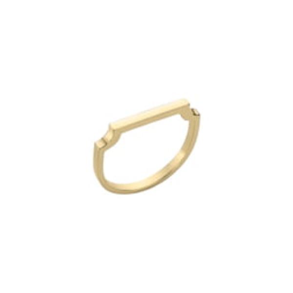 モニカヴィナダー レディース リング アクセサリー Signature Thin Ring Gold