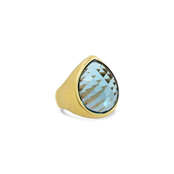 ディーンダビットソン レディース リング アクセサリー Mar Ring Blue Topaz