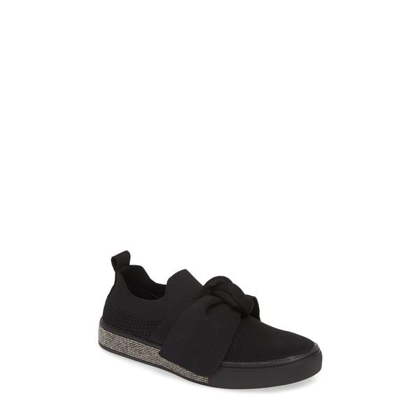 バーニーメブ レディース スニーカー シューズ Spark Serenity Sneaker Black Fabric
