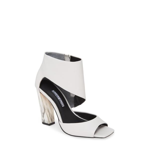 チャールズ・デイビッド レディース サンダル シューズ Volution Sandal White Leather