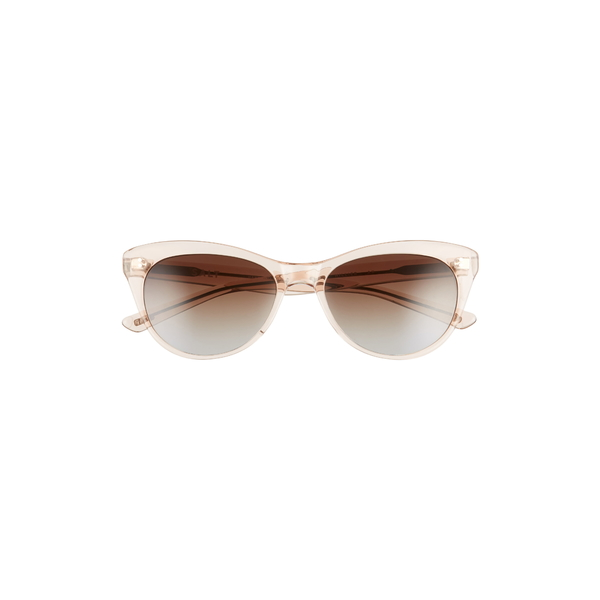 ソルト レディース サングラス&アイウェア アクセサリー Hillier 55mm Polarized Cat Eye Sunglasses Antique Rose