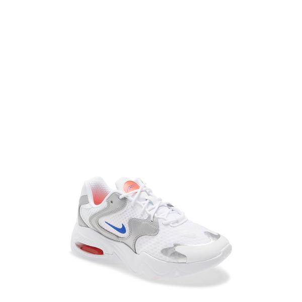 ナイキ レディース スニーカー シューズ Air Max 2X Sneaker White/ Racer Blue/ Silver