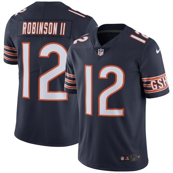 ナイキ メンズ ユニフォーム トップス Allen Robinson Chicago Bears Nike Team Color Vapor Untouchable Limited Jersey Orange