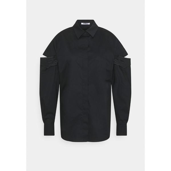 ヴィヴェッタ レディース トップス シャツ nero 贈り物 全商品無料サイズ交換 - blouse Button-down xwzg01db ◆高品質
