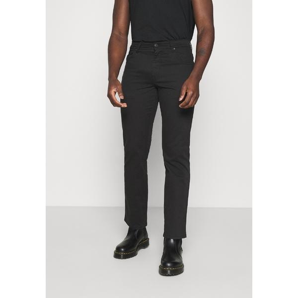 ラングラー メンズ ボトムス デニムパンツ 特価品コーナー☆ black 全商品無料サイズ交換 leg xwzg01dc jeans TEXAS - 春の新作 Straight