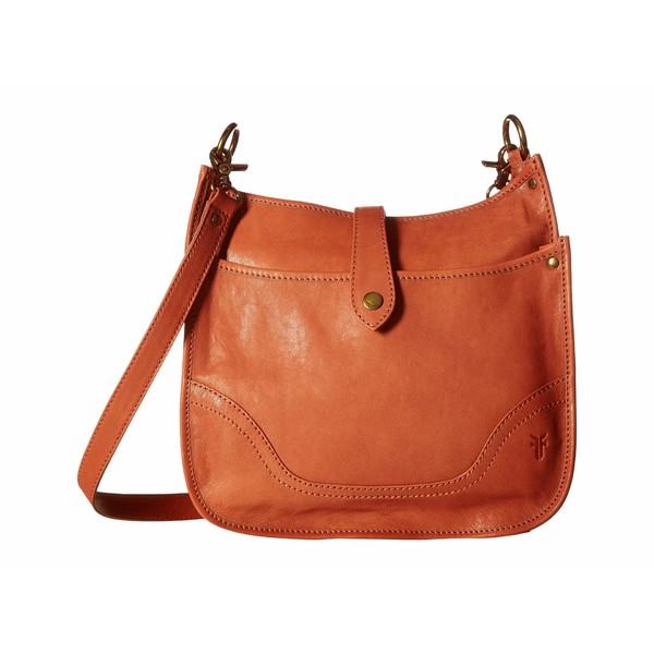 フライ レディース ハンドバッグ バッグ Madison North/South Crossbody Terracotta Soft Vintage Leather