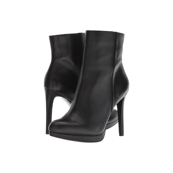 ナインウェスト レディース ブーツ&レインブーツ シューズ Quanette Black Leather