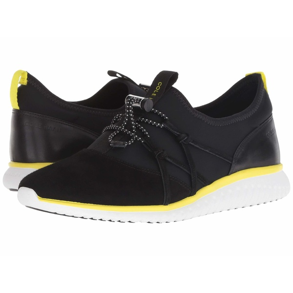 コールハーン レディース スニーカー シューズ Studiogrand Freedom Sneaker Black Lycra/Suede
