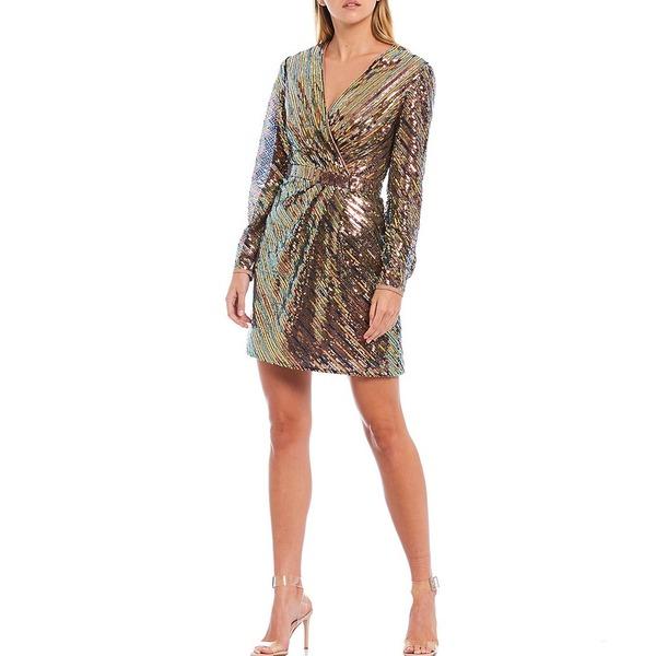 【レビューで送料無料】 テッドベーカー レディース ワンピース トップス Pipii Sequin V-Neck Mini Dress Light Pink, elife-plus 888f8c8b